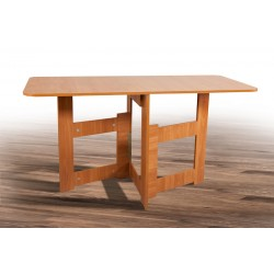 Раскладной стол-трансформер Книжка-Light 700/1400х80/700 вишня оксфорд